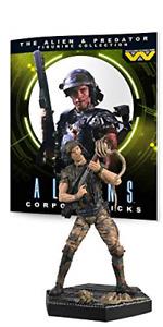 The Alien & Predator Figure Collection Alien Corporal Hicks Collectable #3