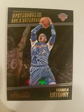 Carmelo Anthony 2016-17 Panini Studio RISING TO THE OCCASION