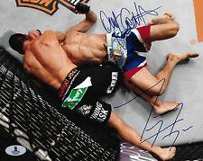 Tony Ferguson Danny Castillo Signed UFC 177 8x10 Photo BAS COA Picture Autograph