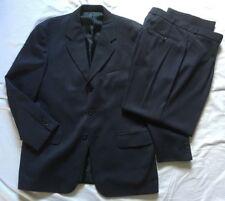Modern Classics Mens Navy Blue 2 Piece Suit 42R Jkt 36R Trousers