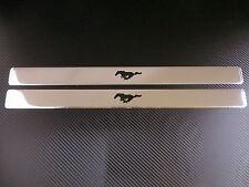 RUNNING HORSE PONY chrome door sills sill plate