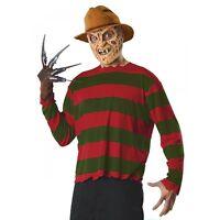 Freddy Krueger Costume Adult Scary Halloween Fancy Dress