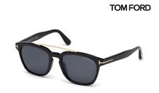 TOM FORD Sunglasses TF516 Holt 01A Black / Grey RRP-£275