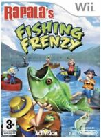 Rapala's Fishing Frenzy (Nintendo Wii Game) Activision, Free UK Post, Very Good