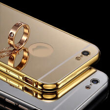 Gold Mirror Aluminum Metal Bumper Back Case Cover Skin For iPhone 5