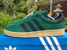 Adidas Topanga  Green & Black Size 9 Rare Deadstock 80s Football Casuals BNIB