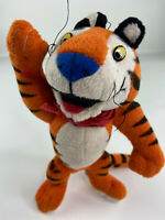 Tony The Tiger Frosted Flakes,1997 Kellogg's plush toy, moveable arms & legs