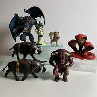 Mythical Fantasy Castle Of Doom Toy Figure Bundle ELC Plus Gargoyle Argus Etc