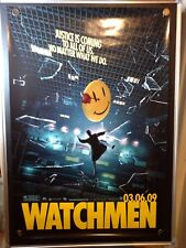 Watchmen Zack Snyder Rolled Double Sided Original 27x40 Movie Poster 2009 - B