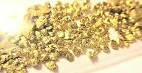Gold Nuggets 1/5 Gram Natural Alaskan Nuggets - Nice Chunky Nuggets, Bright Gold