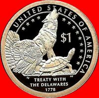 2013 S Sacagawea/Native American Dollar Deep Cameo Gem Proof