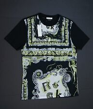 VERSACE COLLECTION 'Rock' Graphic Crew-neck T-Shirts sz M NEW NWT