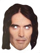 Russell Brand Celebrity Face Mask - Fancy Dress Parties etc - New & Sealed