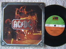 "AC/DC ""WHOLE LOTTA ROSIE"" / ""HELL AIN'T A BAD PLACE"" 7"" PICTURE SLEEVE U.K. RARE"