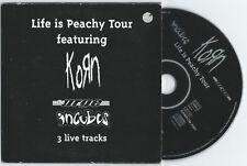 "Incubus/Korn/The Urge ""Live Tracks"" CD OOP Promo Sublime 311 Deftones"