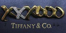 Tiffany & Co Paloma Picasso 18Kt / Platinum Diamond Pin / Brooch