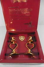 Deko-Kerzenständer & -Teelichthalter mit Herz für Stab-&Tafelkerze