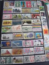 USA AMERICA STAMPS LOT 31 X 143 USED STAMPS - ALL SCANNED BELOW THE WRITTEN DE