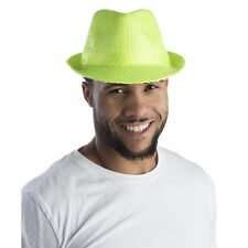 Green Sequined Fedora Hat