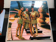 LP IMAGINATION - IN THE HEAT OF THE NIGHT - RED BUS/MOVIEPLAY SPAIN 1982