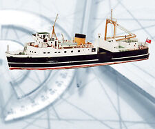 Model Boat PLAN 1:64 scale British Railway Ferry  f/s Printed Plan & Build Notes