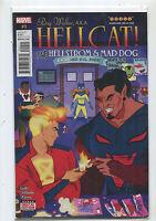 Patsy Walker A.K.A. Hellcat #9 NM Vs Hellstrom & Mad Dog  Marvel Comics **18