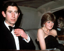 Princess of Wales and Prince Charles UNSIGNED photograph Diana M4099