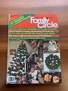 Family Circle Magazine 1979 Christmas December