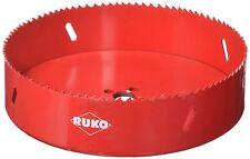 "Ruko 106168 High Speed Steel Bi-Metal Hole Saw, 6-5/8"""