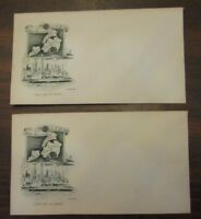 Golden Anniversary New York City 1948 First Day Cover 2 Envelopes NO STAMPS