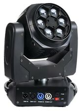 BEE-EYE MOVING HEAD 100W LED DOUBLE-SIDED RGBW COB/6x15W  EFFECTS STAGE LIGHT