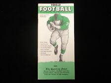 1962 TSN Football Handbook & Schedules Booklet
