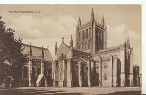 Herefordshire Postcard - Cathedral North East - Ref TZ5942