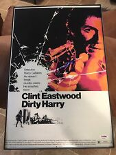 Clint Eastwood Signed 12x18 Dirty Harry Photo Poster PSA DNA COA FULL LETTER