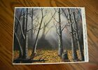 Late Fall In The Woods Signed and Numbered Limited Edition Art Print