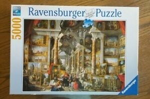 Ravensburger Jigsaw Puzzle - RARE  5000 Piece, Views of Modern Rome.  Pre-owned