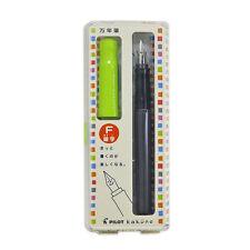 Pilot Kakuno Fountain Pen Fine Nib Smile Series LightGreen Cap FKA-1SR-LG Japan