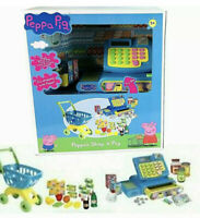 Peppa Pig SHOP 'N' PAY Playset Till Register Money Trolley Shopping - Role Play