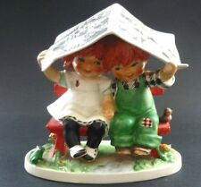 "GOEBEL 1967 RED HEADS ""LET IT RAIN"" FIGURINE"