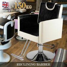 Salon Chair Hydraulic Pump Reclining Barber Hairdressing Beauty Spa Furniture UK