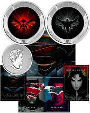 Batman v Superman Dawn Justice 2016 25cents 3D Lenticular Coin Canada: DC Comics