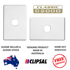 Cover Plate to suit Clipsal Classic Single Switch C2031VA / VH