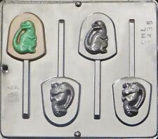 Dinosaur Raptor Jurassic World Lollipop Chocolate Candy Mold 3435 NEW