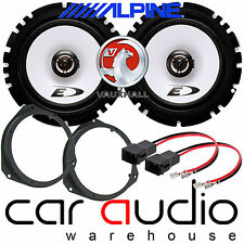 "Vauxhall Astra H MK5 17cm 6"" ALPINE 440 Watts Front Door Car Speakers & Brackets"