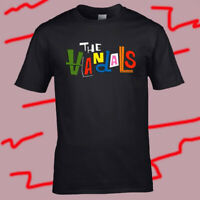 The Vandals Logo Punk Rock Band Men's Black T-Shirt Size S-3XL