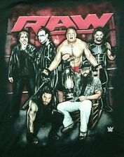 WWE Raw Shirt XXL New With Tags Ambrose Sting Lesnar Rollins Reigns Wyatt
