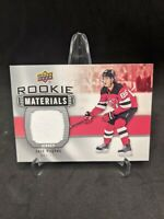 2019-2020 Upper Deck Rookie Materials Jack Hughes Rookie #RMJH New Jersey Devils