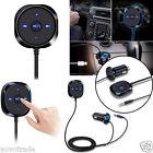 Bluetooth 4.0 Wireless Music Receiver 3.5mm Adapter Handsfree Car AUX Receiver