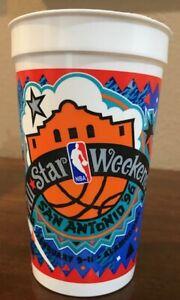Vintage 1996 NBA ALL-STAR Basketball Game SOUVENIR CUP San Antonio, Texas