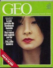 *** GEO n° 49 ** 03/1983 - Japon / Chouette